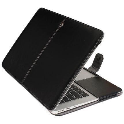 Mobigear Business Case für MacBook Air 13 Zoll - Schwarz