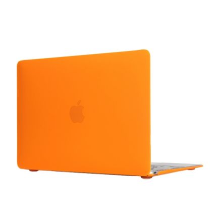 Mobigear Matte Case für MacBook 12 Zoll - Orange