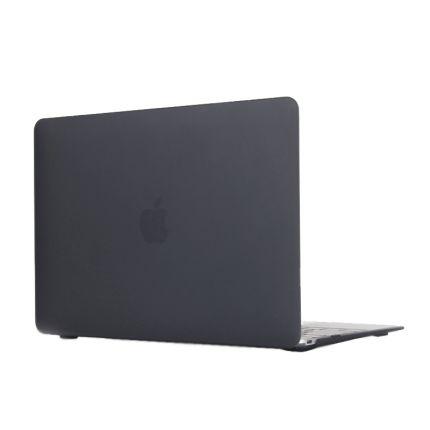 Mobigear Matte Case für MacBook 12 Zoll - Schwarz