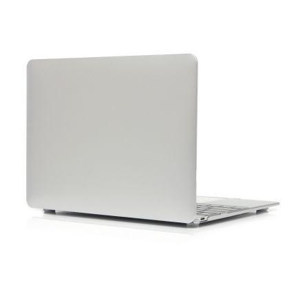 Mobigear Metallic Case für MacBook 12 Zoll - Silber