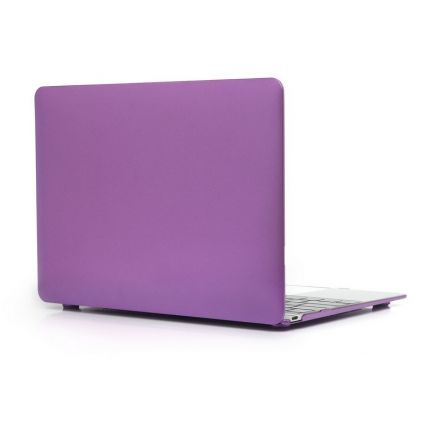 Mobigear Metallic Case für MacBook 12 Zoll - Lila