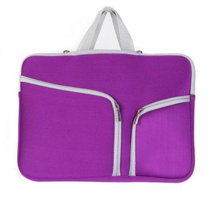 Mobigear Basic Neopren Tasche Universal Laptop 13 Zoll - Lila