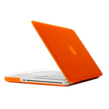 Mobigear Matte Case für MacBook Pro 15 Zoll - Orange