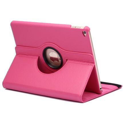 Mobigear 360 Rotating Klapphülle für iPad Air 1 / 2 (2014) - Magenta