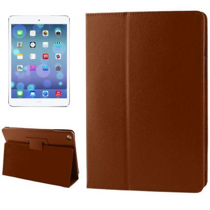 Mobigear Classic Klapphülle für iPad 6 (2018) / iPad 5 (2017) / iPad Air 1 (2013) - Braun