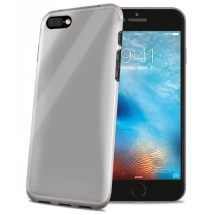Celly Gelskin TPU Backcover für iPhone 8 Plus / 7 Plus - Transparent