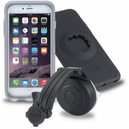 Tigra Mountcase 2 Car Kit Saugnapf Autohalterung für Apple iPhone 6(s) - Schwarz