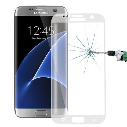 Mobigear Edge To Edge Panzerglas Displayschutz für Samsung Galaxy S7 Edge