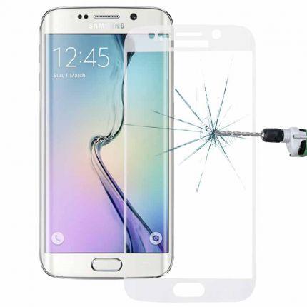 Mobigear Edge To Edge Panzerglas Displayschutz für Samsung Galaxy S6 Edge Plus