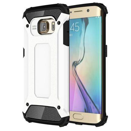 Mobigear Outdoor Hardcase Backcover für Samsung Galaxy S6 Edge - Weiß