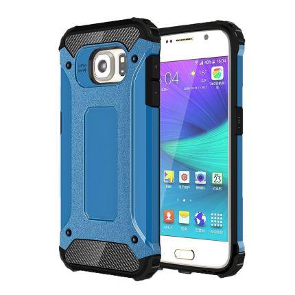 Mobigear Outdoor Hardcase Backcover für Samsung Galaxy S6 - Blau