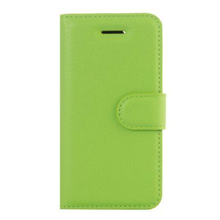 Mobigear Classic Klapphülle für iPhone SE (2016) / 5S / 5 - Grün
