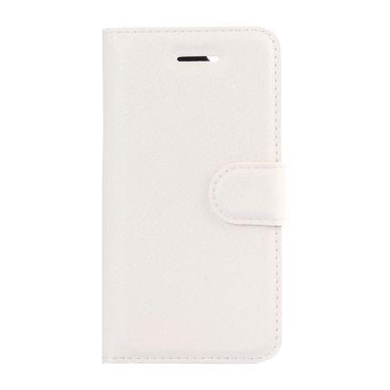 Mobigear Classic Klapphülle für iPhone SE (2016) / 5S / 5 - Weiß