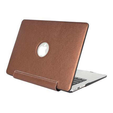 Mobigear Silk Texture United Case für MacBook Pro 13 Zoll - Braun