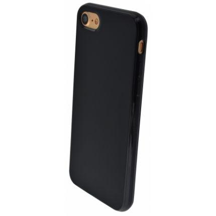 Mobiparts Essential TPU Backcover für iPhone SE (2020) / 8 / 7 - Schwarz
