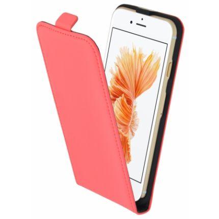 Mobiparts Premium Flipcase für iPhone SE (2020) / 8 / 7 - Peach Pink
