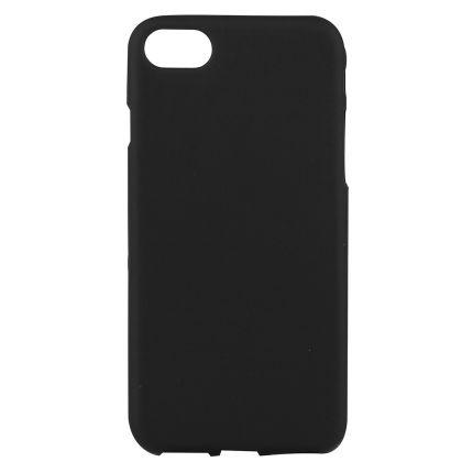 Mobigear Color TPU Backcover für iPhone SE (2020) / 8 / 7 - Schwarz