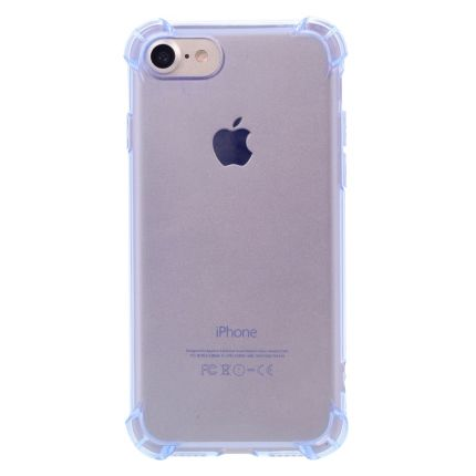 Mobigear Cushion TPU Backcover für iPhone SE (2020) / 8 / 7 - Blau