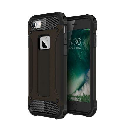 Mobigear Outdoor Hardcase Backcover für iPhone SE (2020) / 8 / 7 - Schwarz