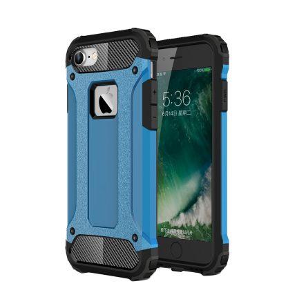 Mobigear Outdoor Hardcase Backcover für iPhone SE (2020) / 8 / 7 - Blau