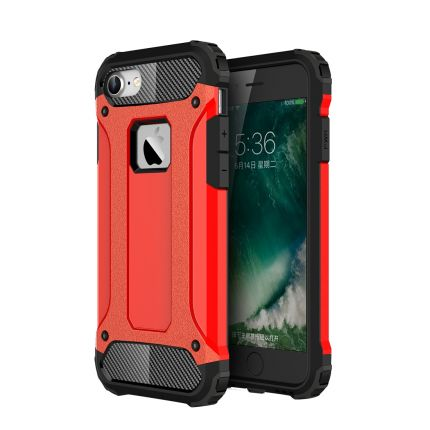 Mobigear Outdoor Hardcase Backcover für iPhone SE (2020) / 8 / 7 - Rot