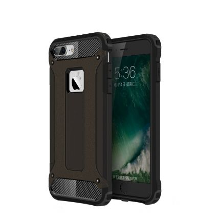 Mobigear Outdoor Hardcase Backcover für iPhone 8 Plus / 7 Plus - Schwarz