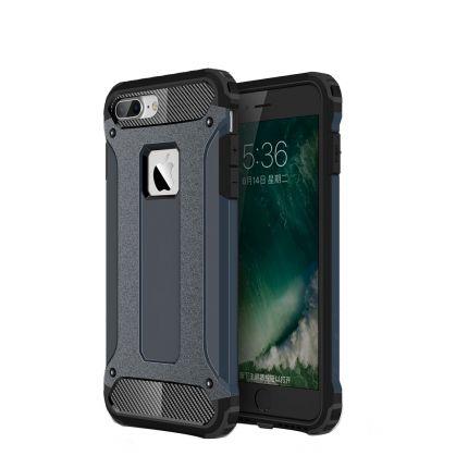 Mobigear Outdoor Hardcase Backcover für iPhone 8 Plus / 7 Plus - Dunkelblau