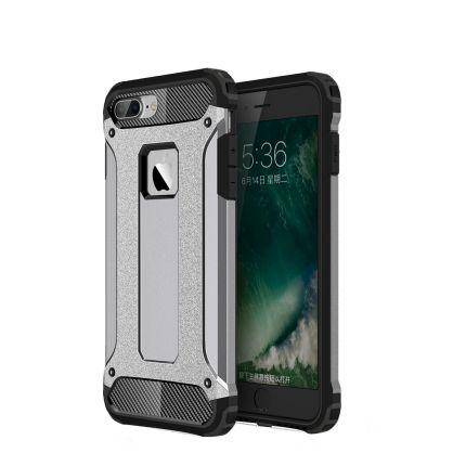 Mobigear Outdoor Hardcase Backcover für iPhone 8 Plus / 7 Plus - Grau
