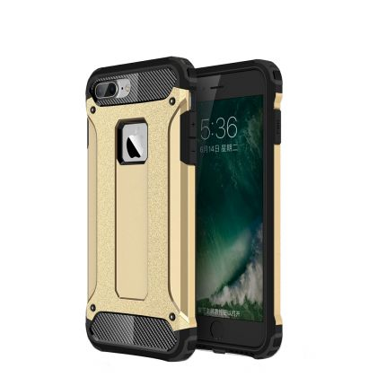 Mobigear Outdoor Hardcase Backcover für iPhone 8 Plus / 7 Plus - Gold