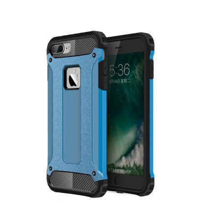Mobigear Outdoor Hardcase Backcover für iPhone 8 Plus / 7 Plus - Blau