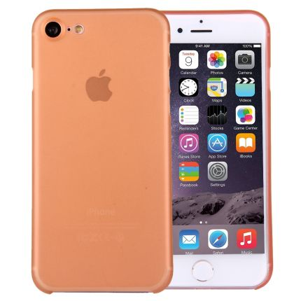 Mobigear Ultra Thin Hardcase Backcover für iPhone SE (2020) / 8 / 7 - Orange