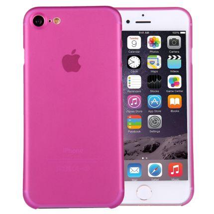Mobigear Ultra Thin Hardcase Backcover für iPhone SE (2020) / 8 / 7 - Magenta
