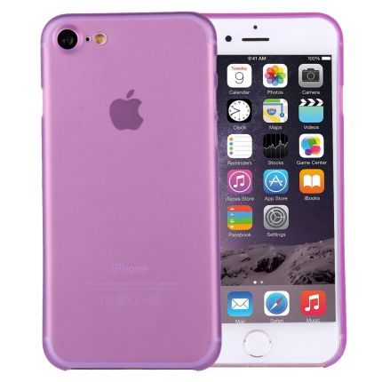 Mobigear Ultra Thin Hardcase Backcover für iPhone SE (2020) / 8 / 7 - Lila