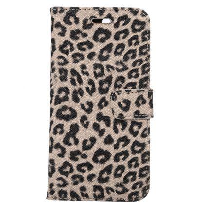 Mobigear Leopard Klapphülle für iPhone 8 Plus / 7 Plus - Braun