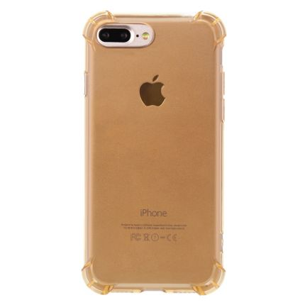 Mobigear Cushion TPU Backcover für iPhone 8 Plus / 7 Plus - Gold