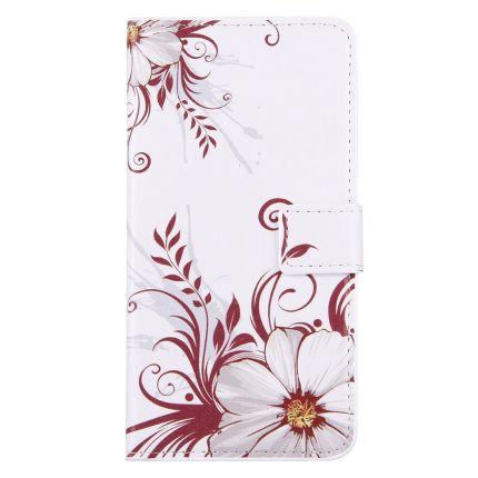 Mobigear Design Klapphülle für iPhone 8 Plus / 7 Plus - Blumen