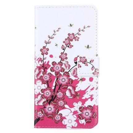 Mobigear Design Klapphülle für iPhone 8 Plus / 7 Plus - Blühen