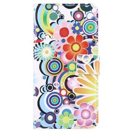 Mobigear Design Klapphülle für iPhone 8 Plus / 7 Plus - Feuerwerk