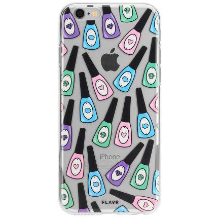 FLAVR iPlate TPU Backcover für iPhone SE (2020) / 8 / 7 - Nail Polish