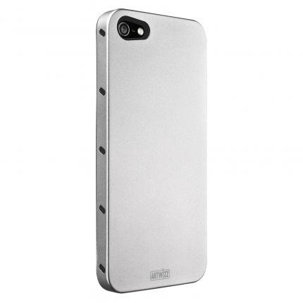 Artwizz SeeJacket Aluminium Backcover für iPhone SE (2016) / 5S / 5 - Silber