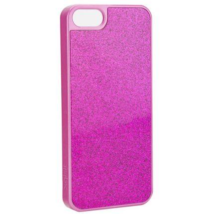 Xqisit iPlate Hardcase Backcover für iPhone SE (2016) / 5S / 5 - Pink