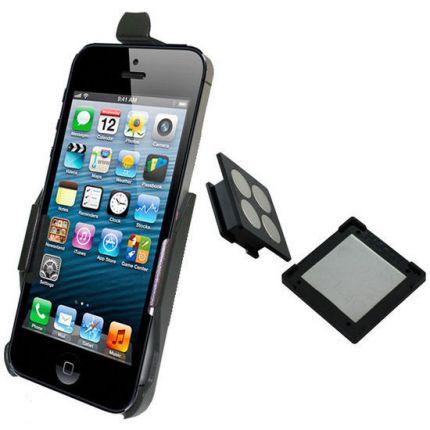 Haicom Magnetische Dashboard Autohalterung für Apple iPhone SE (2016) / 5S / 5 - Schwarz