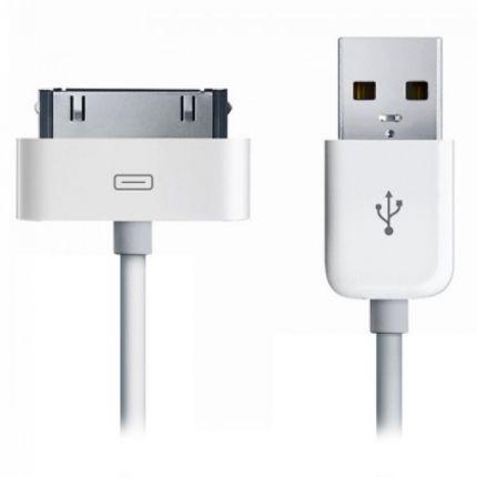 Xccess USB-A auf Apple 30-Pin Kabel 1 Meter - Weiß