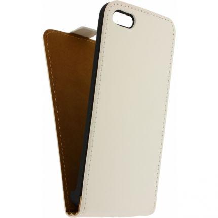 Mobilize Ultra Slim Flipcase für iPhone 5C - Weiß