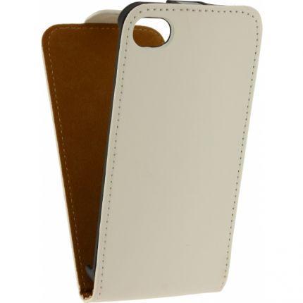 Mobilize Ultra Slim Flipcase für iPhone 4(S) - Weiß