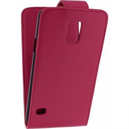 Xccess Flipcase für Samsung Galaxy S5 - Pink