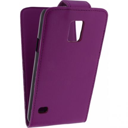 Xccess Flipcase für Samsung Galaxy S5 - Lila