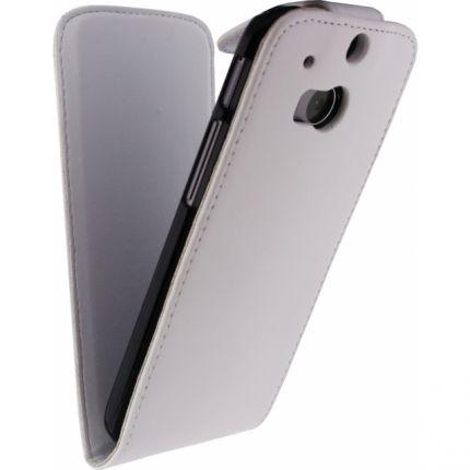 Xccess Flipcase für HTC One M8 - Weiß