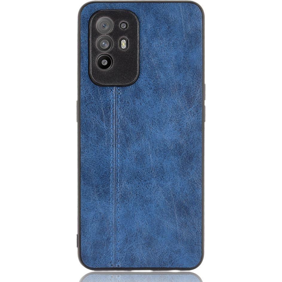 Mobigear Stitch TPU Backcover für OPPO A94 5G - Blau 612939 -  huellendirekt.de