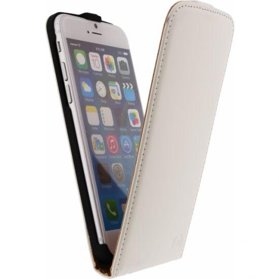 Mobilize Ultra Slim Flipcase für iPhone 6(s) - Weiß